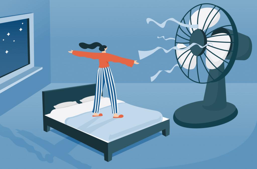 Gut schlafen trotz Sommerhitze? Diese Checkliste hilft ihnen dabei