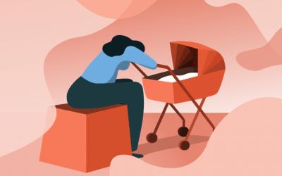 Gefühlstief statt Babyglück: Wenn Mütter depressiv werden